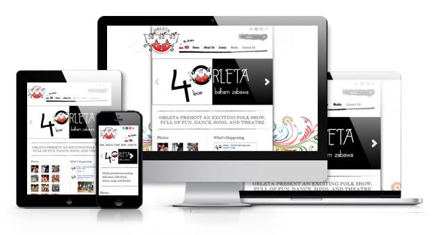 orleta responsive showcase