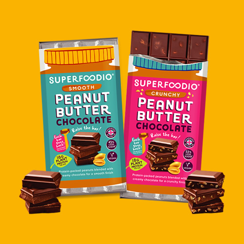Superfoodio peanut butter bars